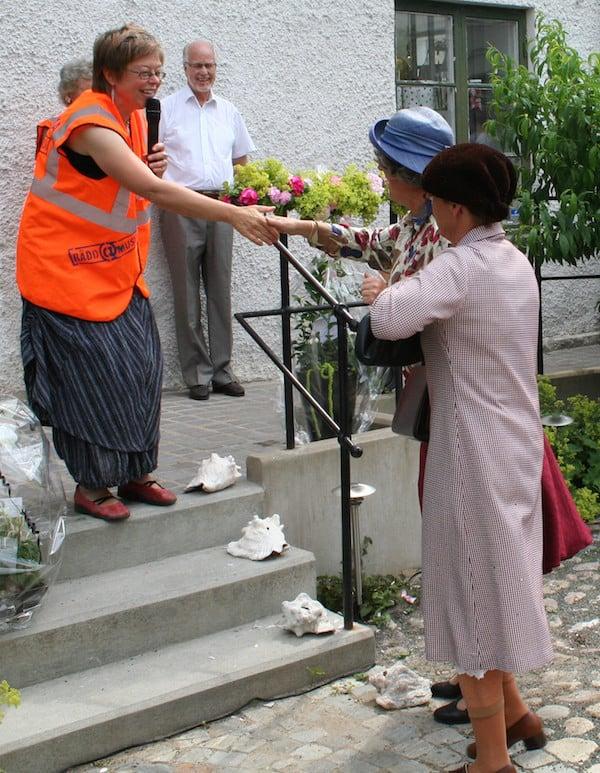 Tyra och Vera på Österlens Museum