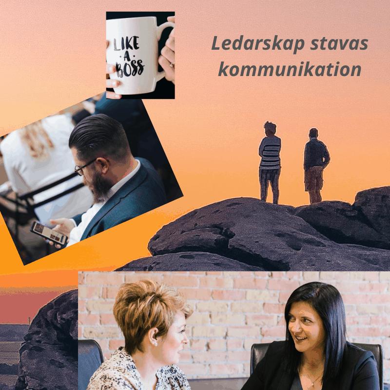 ledarskap stavas kommunikation